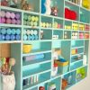 Better Craft Room Storage Shelves With Diy Craft Cub Wall Craft Walls And Room Marvelous Craft Room Storage Shelves