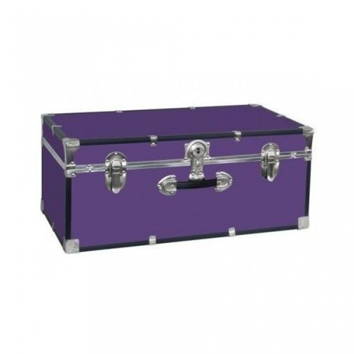 Famous Locked Storage For Dorm Room With Purple Wood Footlocker Truck Dorm Room College Luggage Storage Chest Fantastic Locked Storage For Dorm Room